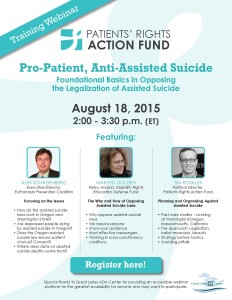 Patients Rights Action Fund Webinar Invitation