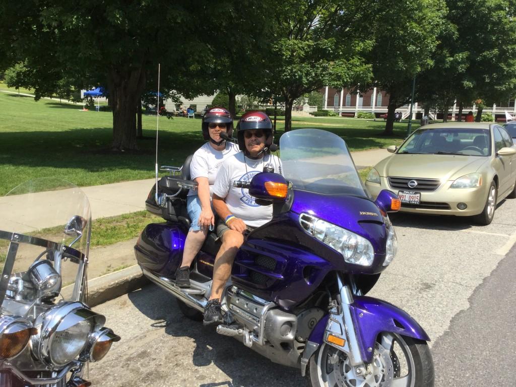 Rutland Riders Phil and Belva